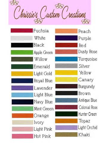 ribbon color cancer awareness color chart pictures to pin on