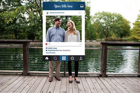 design frame photo booth custom design instagram frame photo booth prop digital