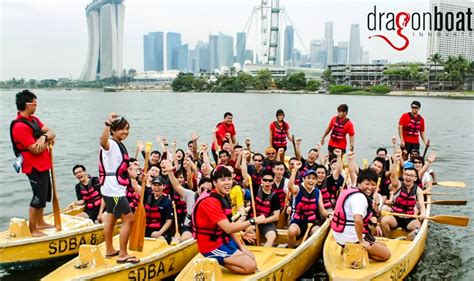 dragon boat team singapore corporate fun team building activities events singapore