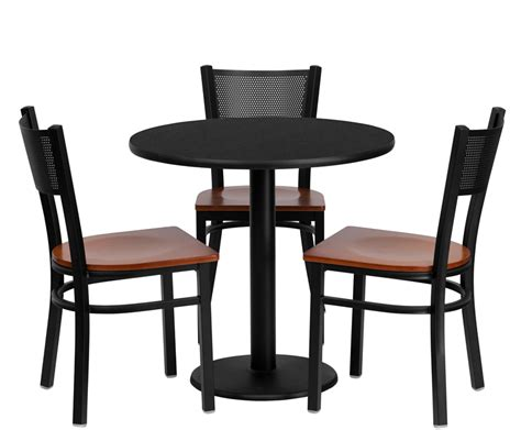 breakroom table and chairs btod 30 quot top breakroom table w chairs