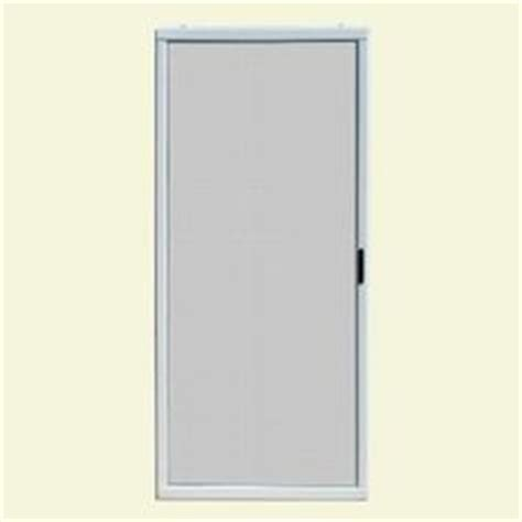andersen sliding screen door 36 x 80 andersen 36 in x 78 in 400 series white aluminum sliding