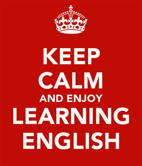 keep calm and learn new things poster arielashery simplyenglish seneffe