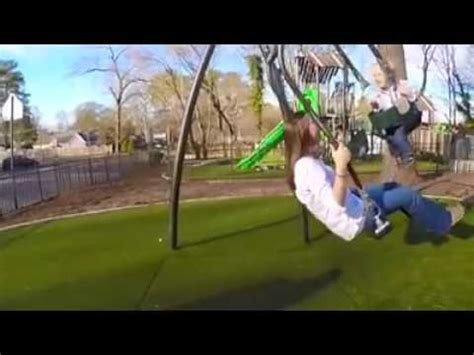 how to put a graco swing together mother and baby together in a great swing youtube