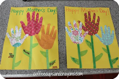 how to make cards for preschoolers s day card and a money flower coffee cups and crayons