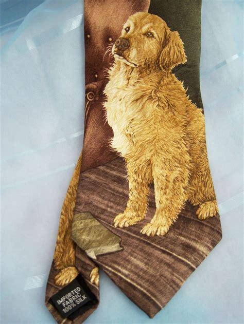 golden retriever species golden retriever spp endangered species s classic 4 0 silk tie golden