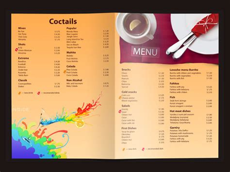 Price Menu Template 22 Price Menu Templates Free Sle Exle Format Download Free Premium Templates
