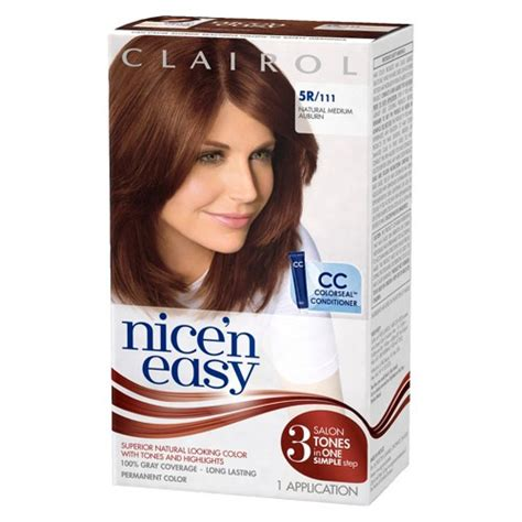 how to use nice n easy hair color clairol nice n easy hair color ebay