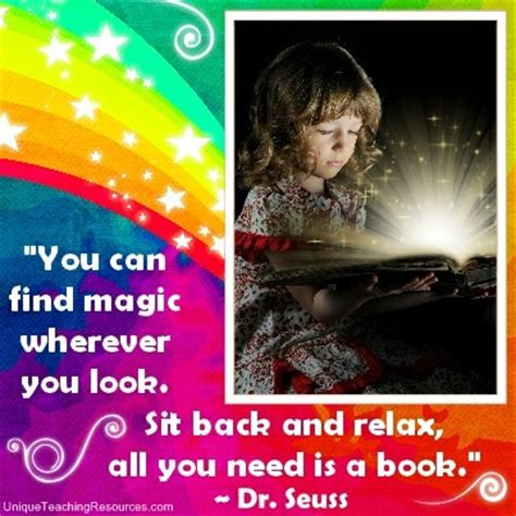 always look for the magic books quotes about reading quotesgram