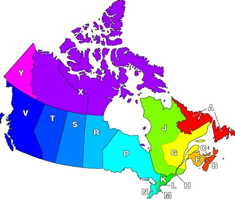 canadian map of area codes canada postal code map car interior design