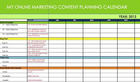 business plan calendar template 5 easy simple ways to create a winning