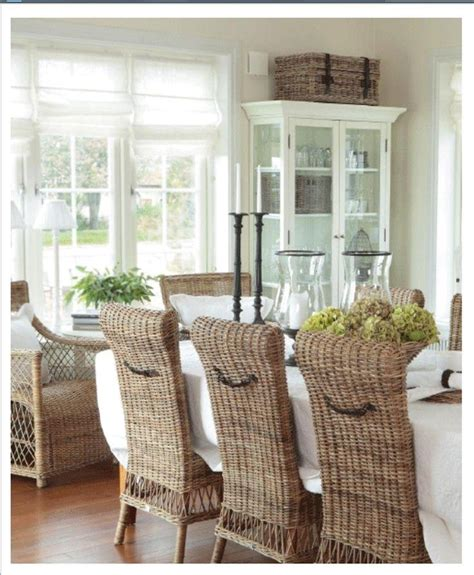 rattan dining tables  chairs dining room ideas