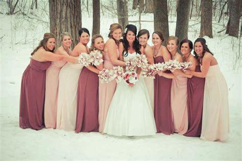 petal colored bridesmaid dresses my bridesmaid dress colors from davidsbridal left to