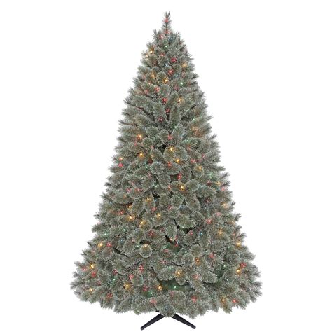 jaclyn smith 7 5 ft ridgedale cashmere spruce christmas
