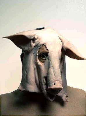 anya roz meat masks  costumes