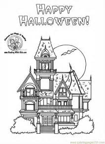 haunted house coloring pages free big big houses coloring pages