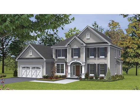 traditional house plans two story cottage house plans