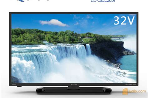 led tv sharp aquos 32inch 32le265 usb hdmi gambar