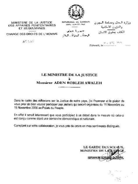 Lettre De Remerciement Pour Un Visa Ardhd La Liberte Bulletin N 176 22 Du 11 11 Au 17 11 00