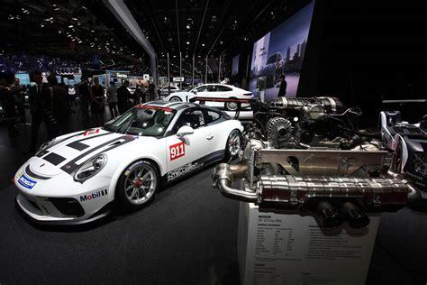 porsche gt3 engine paris 2016 porsche 911 gt3 cup gtspirit