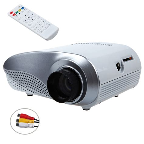 Proyektor Mini Proyektor Mini rd802 mini portable lcd projector hdmi home theater