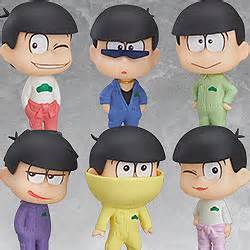Osomatsu San Mini Figure osomatsu san mini figures overall ver