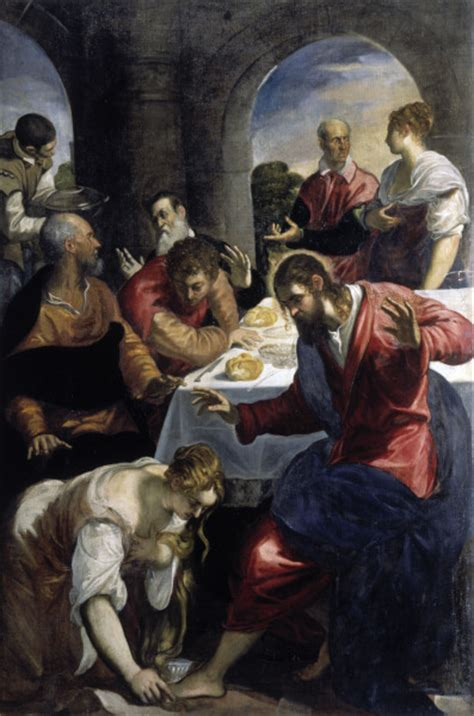 house of banquet banquet in house of simon tintoretto jacopo robusti tintoretto als kunstdruck oder