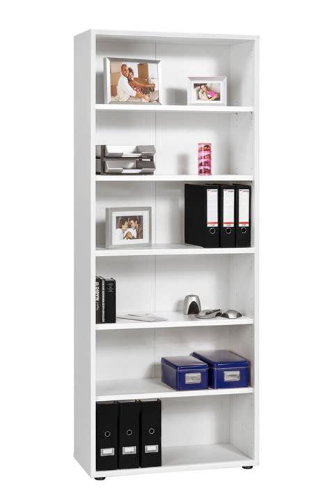 maja white large bookcase