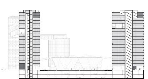 Hybrid Section by Linked Hybrid By Steven Holl Architects Karmatrendz