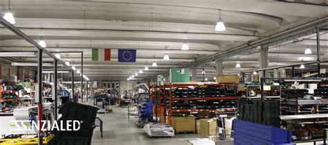 illuminazione a led industriale illuminazione led industriale essenzialed 5 anni di