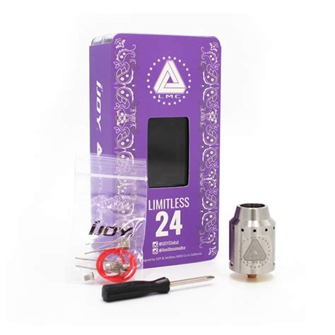 Limitless 24 Rda Authentic buy authentic ijoy limitless 24 rda cheap deal vapingbuy