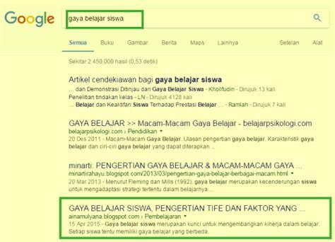 cara membuat blog kita muncul di google cara membuat blog muncul dihalaman pertama google