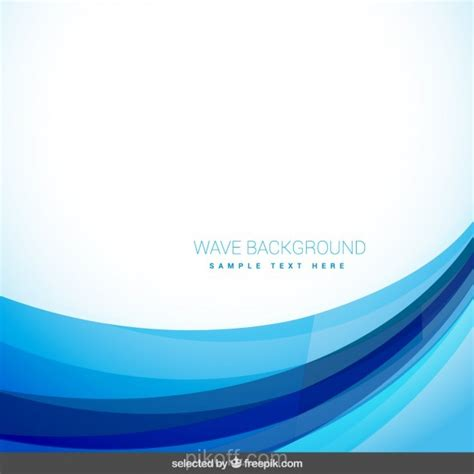 blue wallpaper vector free download ai abstract background with blue wave vector free