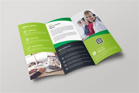 tri folded brochure templates nevada creative tri fold brochure design template 001700