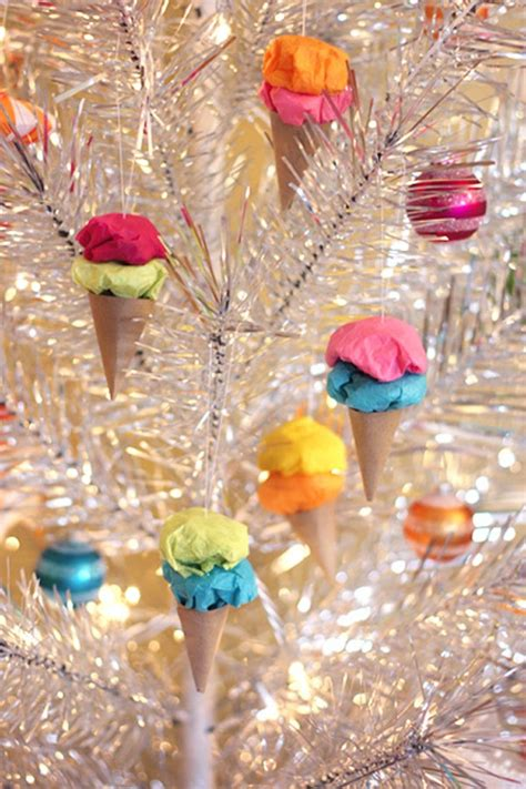 Home Made Party Decorations diy christmas tree ornaments 15 joyful and simple