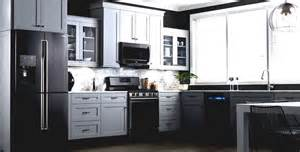 white kitchen black appliances kitchen cabinets black appliances white painting paint
