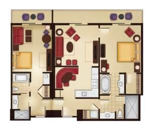 Grand Floridian 2 Bedroom Villa Floor Plan by The Villas At Disney S Grand Floridian Resort Amp Spa Guide