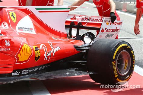 Ferrari Heck by Ferrari Sf70h Heck Bei Sachir Formel 1 Fotos