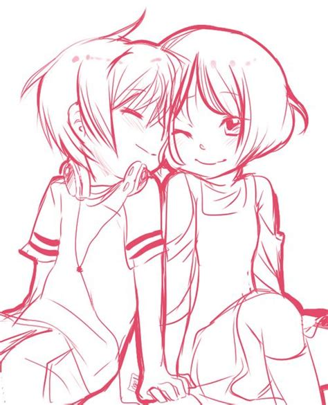 chibi couple coloring pages 55 best images about manga anime on pinterest chibi