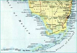 map of florida islands