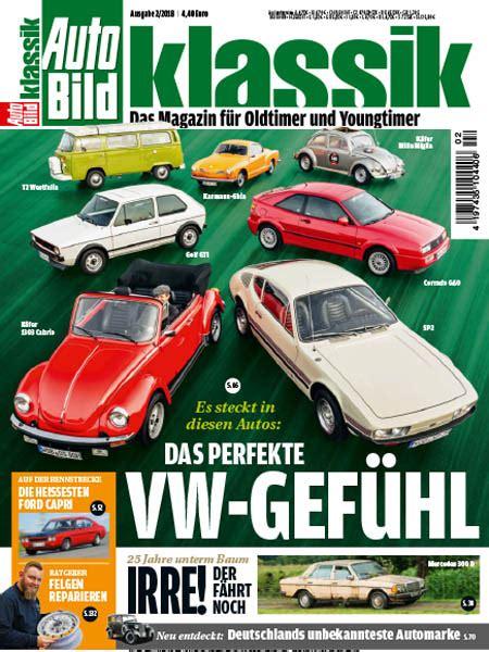 Auto Bild Klassik by Auto Bild Klassik 02 2018 187 Download Pdf Magazines