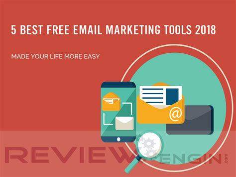 Email Marketing 5 by 5 Best Free Email Marketing Tools 2018 Reviewengin