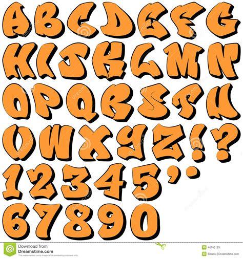 si鑒e タ 钁e 3 lettres graffiti buchstaben und zahlen vektor abbildung bild
