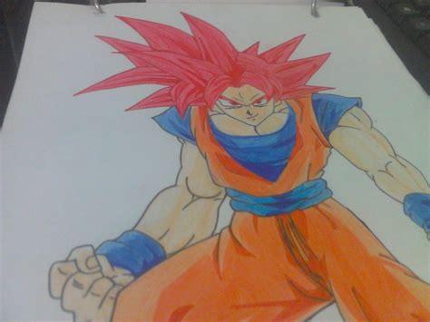 imagenes de goku realistas mi dibujo goku ss dios hazlo tu mismo taringa