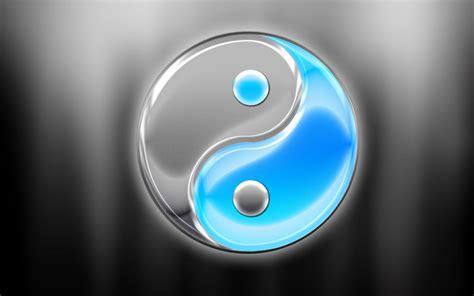 imagenes de yin yang en 3d yin yang backgrounds wallpaper cave