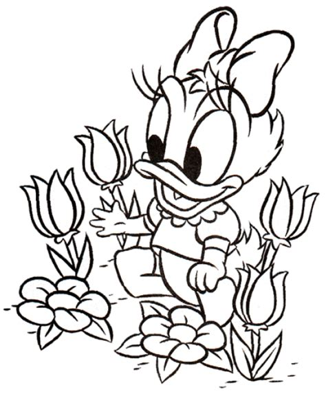 daisy coloring page cartoon coloring pages