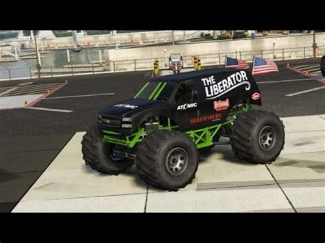 gta 5 rare cars the liberator (monster truck) location