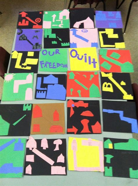 The Freedom Quilt by 76 Best Images About Underground Railroad Unit On