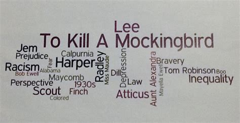 themes in to kill a mockingbird growing up wordle to kill a mockingbird