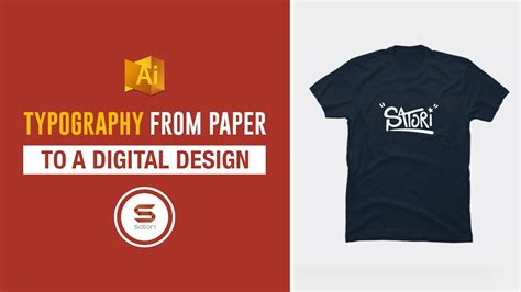 design kaos distro polos digital typography design from paper to illustrator t