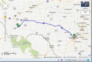 map alpine texas the route map a curious adventure